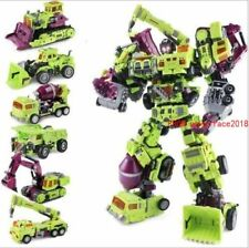 "WJ Oversized Transformers Devastator Robots Action Figure 15"" Toy New"