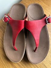 Fitflop Ladies Sandals red size 5