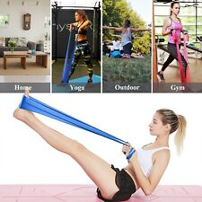 3Pcs 1.5m Exercise Resistance Bands Stretch Elastic Belts Set Physical Therapy