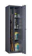Waffenschrank mit 3 Waffenhaltern und Regalteil Grad 1 EN 1143-1 Waffentresor