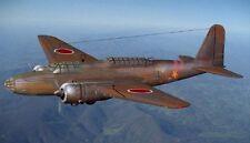 Mitsubishi Ki-21 Japanese Medium Bomber Aircraft Mahogany Wood Model Small New