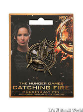 The Hunger Games Catching Fire Mockingjay Authentic Pin Prop Replica Jewelry NIP