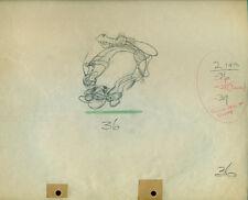 Disney Mickey Mouse 2 Gun Mickey 1934 cel Drawing