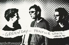 POSTER : MUSIC : GREEN DAY - PRACTICE SPACE  - FREE SHIPPING ! #6500 RP84 P