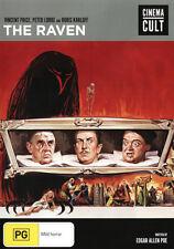 C11 BRAND NEW SEALED The Raven (DVD, 2012) Vincent Price Peter Lorre Boris Karlo