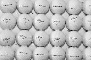 1 Dozen Titleist Pro V1 MINT / Near Mint Grade Golf Balls