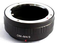 Olympus OM to Micro 4/3 M43 Lens Mount Adapter EP3 GF5 GX1 EPL5 OM-D E-M5 OM-M43