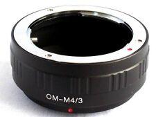 Olympus OM to Micro 4/3 M43 Lens Mount Adapter EP3 GF5 GX1 EPL5 OM-D E-M5 OM-M43