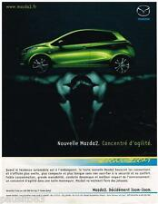 PUBLICITE ADVERTISING 095  2007  MAZDA   la nouvelle MAZDA2 ZOOM-ZOOM