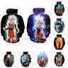 Super Saiyan Goku 3D Print Hoodie Anime Dragon Ball Z Sweatshirt Pullover Jumper