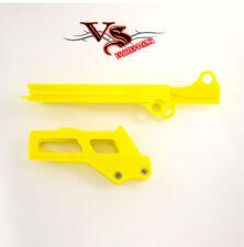 Polisport Guía De Cadena & Control Deslizante Kit Suzuki RMZ250 10-11 RMZ450 2007 y 10-17 Amarillo