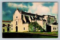 San Juan PR, San Jose Church, Chrome Puerto Rico Postcard