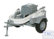 76CCP001 Oxford Diecast 1:76 Scale Grey NFS Coventry Climax Pump Trailer