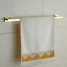 Wall Mounted SUS 304 Gold Finish Bathroom Single Towel Rack Bar Towel Bar Rail