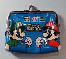 Nintendo New Super Mario Bros. Luigi Coin Purse Change Wallet Wii era RARE