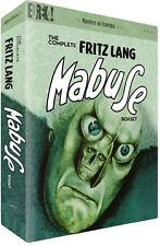 COMPLETE FRITZ LANG MABUSE BOX SET  - DVD - REGION 2 UK