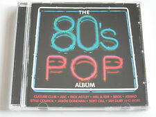 The 80's Pop Album - Various (CD Album) Used very good