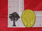 Tree Push Silicone Mold Cake Chocolate Resin Polymer Clay Fimo A554