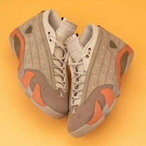 CLOT x Air Jordan 14 Low Terracotta Blush AJ14 ED, Size 11