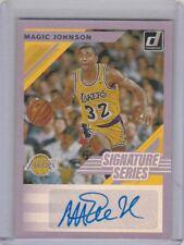 2019 20 Donruss Signature Series Foil Earvin Magic Johnson Los Angeles Lakers