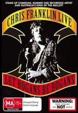 Chris Franklin Live - Let Bogans Be Bogans (DVD, 2006) New & Sealed