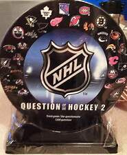 OFFICIAL NHL HOCKEY GAME- NHL QUESTIONS of HOCKEY #2 1200 QUESTIONS # NHLQH2