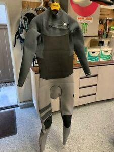 New $400 Women/'s Hurley Phantom 303 Wetsuit 3mm Full Suit Black Size 6