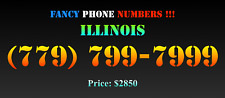 New listing Fancy Phone Numbers ! Illinois (779) 799-7999
