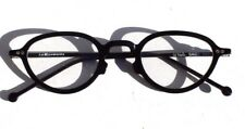 New Vtg 1996 L.A. Eyeworks Eyeglasses Retro Black Sage 101 - NOS