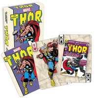 New Sealed Marvel Comics Avengers The Mighty Thor Playing 52 Cards Game