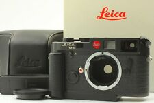 [Near Mint] Leica M6 Black 0.72 Non TTL + Grip Leather Case Camera From Japan 64