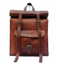 Women's Real Leather Vintage Handmade Backpack Rucksack Shoulder Satchel Bag