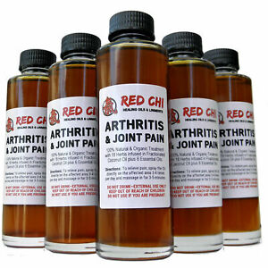 Red Chi Arthritis & Joint Pain Relief Oil (50ml or 100ml with spray applicator)