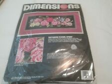 Victorian Floral Spray-Dimensions-Needlepo int Kit
