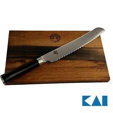 Kai Shun Classic Geschenkset DM-0705 Brotmesser 23 cm, ultrascharf+ Brett 30x18