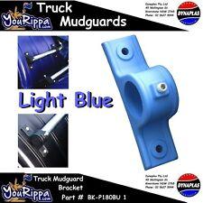 AMPOL LIGHT BLUE PLASTIC TRUCK MUDGUARD HANGER BRACKET KIT SEMI TRAILER NEW
