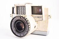 Vintage Wollensak Revere Eye-Matic EE 127 Camera with Raptar 58mm f/2.8 Lens V17