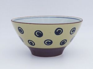 Pro Japanese Bowl Udon Ramen Salad TOMITALIA MILMIL vortexed circle Japan made