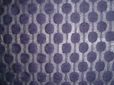 Stretch Polyester Lace Purple/Grey 1.5mt x 158cm