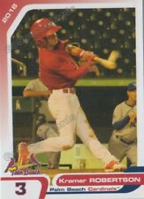 2018 Palm Beach Cardinals Kramer Robertson RC Rookie St Louis