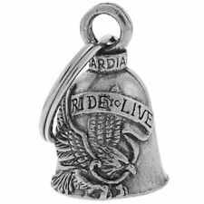 Live To Ride Ride To Live Guardian Bell Motorcycle Biker Ride Bell or Keychain