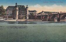 Y252 CPA ALLEMAGNE COBLENZ Alle Burg a d Mosel