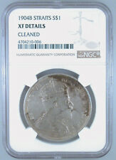 1904-B Straits Settlement $1 XF Details NGC Certified