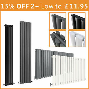 Oval Column Radiator Horizontal Vertical Design Tall Upright Central Heating Rad