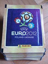 50 pacchetti bustine sigillate figurine Uefa EURO 12 Panini Europei 2012