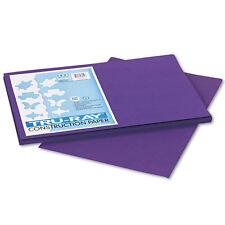Pacon Tru-Ray Construction Paper, 76 lbs 12x18, Purple, 50 Shts/Pk (PAC103051)