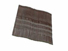 36 x 4.5cm Brown Kirby Hair Grips Hair Clip Slides Bobby Pin Hair Accessory