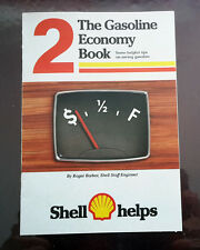 1978 Vintage Original SHELL booklet The Gasoline Economy Book, tips saving gas