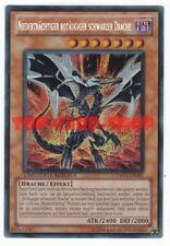 Yu-Gi-Oh: NIEDERTRÄCHTIGER ROTÄUGIGER SCHWARZER DRACHE , secret-rare , NEU
