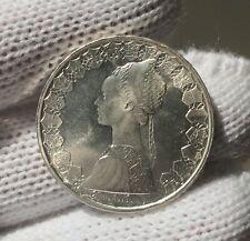 """500 Lire 1970 """" Caravelle """" Repubblica Italiana - FDC - argento / silver"""